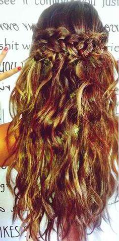 GORGEOUS hair! <3
