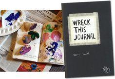 Wreck this journal, manuale di distruzione creativa