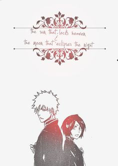 Bleach - Ichigo and Rukia Bleach Ichigo And Rukia, Anime Bleach, Kuchiki Rukia, Bleach Fanart, Bleach Pictures, Clorox Bleach, Bleach Couples, Funny Picture Quotes, Shinigami