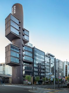 Shizuoka Press and Broadcasting Offices by Chimay Bleue, via Flickr