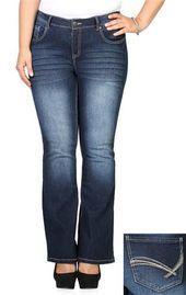 Junior Plus Size Jeans | DebShops.com