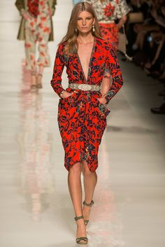 Etro #mfw SS2014 | Ready for Summer 204 | LOVE THIS DRESS!