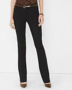 cf7154505e0 Ponte Slim Bootcut Pants Dress For Petite Women