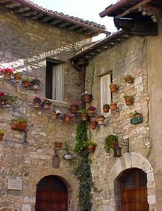 Homes in Sienna, Italy
