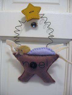 Nativity Felt Ornament. $8.00, via Etsy.