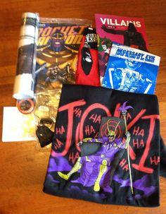 July Loot Crate Review - Villains + Coupon Code - http://mommysplurge.com/2014/07/july-loot-crate-review-villains-coupon-code/
