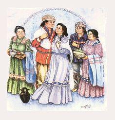 The Old Cherokee Wedding