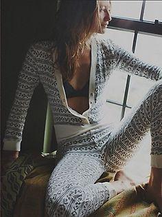 Grey / White Gstaad ski suit.