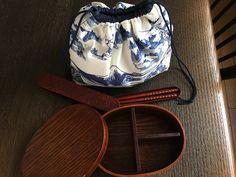 🍙『OBENTO』 lunch bag :  MAME FUKU  handmade