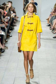 Michael Kors. Spring/Summer 2015. This cheery yellow was everywhere.