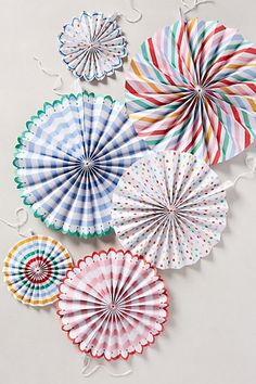 Paper Pinwheel Kit #anthropologie #greigedesign #party