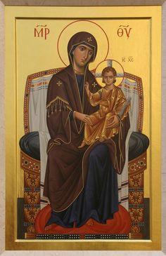 Byzantine Icons, Byzantine Art, Religious Icons, Religious Art, Greek Icons, Religion, Russian Icons, Madonna And Child, Orthodox Icons