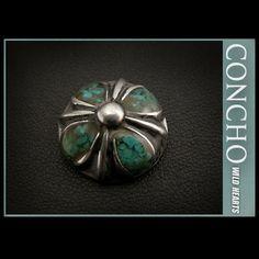Mini Concho Cross Metal& Howlite TurquoiseWILD HEARTS Leather&Silver http://item.rakuten.co.jp/auc-wildhearts/co2346/