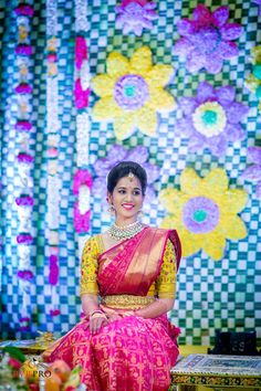 Beautiful Traditional Bridal Silk Saree