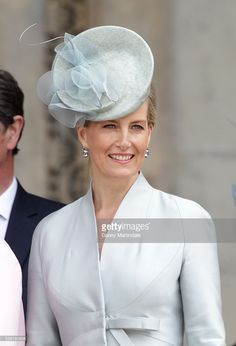 Sophie, Countess of Wessex attends a National Service of Thanksgiving as part of the 90th birthday celebrations for The Queen at St Paul's Cathedral on June 10, 2016 in London, England.  (Photo by Danny Martindale/WireImage)