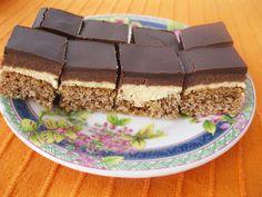 Posne orah kocke_1_resize Posne Torte, New Recipes, Cooking Recipes, Cheesecake Ice Cream, Torte Cake, Dessert Recipes, Desserts, International Recipes, Recipe Box