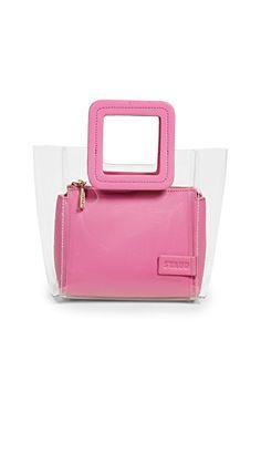 e0386184a0dc STAUD Mini Shirley Bag Pink Handbags