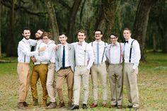 Groom & Groomsmen Attire Intimate St Augustine Wedding
