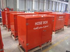 Fire rated GRP Kiosks for UAE. 2nd batch of some 280 units. Find out more at our website http://www.kingsleyplastics.co.uk/