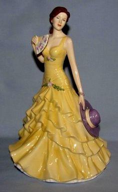 """Royal Doulton Pretty Ladies,""""Jessica"""" HN5438, 9""""H, MINT"""