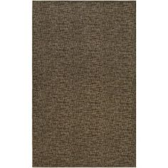 Mercury Row Attalus Brown Indoor/Outdoor Area Rug Rug Size: 4' x 6'