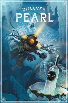 Read more: https://www.luerzersarchive.com/en/magazine/print-detail/pearl-vodka-62644.html Pearl Vodka Vintage illustrated posters for Pearl brand vodka. Tags: Rodgers Townsend, St. Louis,Patrick Faricy,Conor Barry,Pearl Vodka,Mike McCormick,Peter Rodick