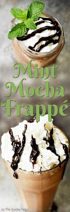 Bring the coffee house to your house when you make a delicious Mint Mocha Frappé at home! #MyToraniFrappe AD