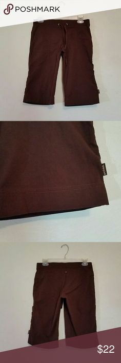 Prana BREATHE Shorts S Cute dark brown Prana BREATHE shorts size small. In lightly used condition with no blemishes from a pet / smoke free home. Prana Shorts