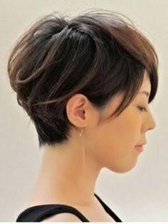 Resultado de imagen para corte de cabello de hongo para mujer