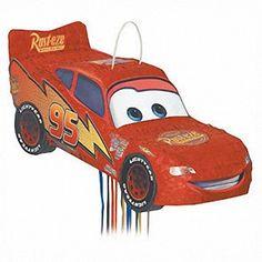 Disney Cars Birthday Party Pinata