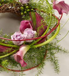 Woodland Wreath Pink Pink