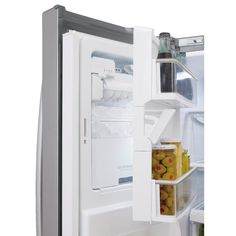 Shop LG 27.6-cu ft French Door Refrigerator with Single Ice Maker (Stainless Steel) ENERGY STAR at Lowes.com
