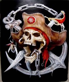 images for anime fantasy art Pirate Art, Pirate Skull, Pirate Life, Pirate Ships, Pirate Flags, Pirate Woman, The Pirates, Pirates Cove, Pirates Of The Caribbean