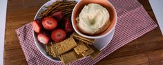 Make the perfect healthy dip for busy moms to serve as a snack.