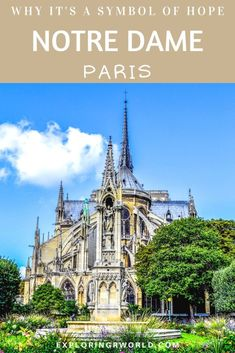 Notre Dame Paris Cathedral, built 850 years ago, burned in It still stands as a symbol of hope. Europe Destinations, Europe Travel Tips, European Travel, Travel Advice, Travel Guides, Amazing Destinations, Paris Travel, France Travel, Ukraine