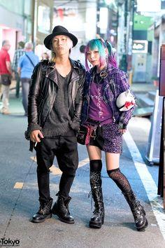 Harajuku Girl & Harajuku Guy in Oz Abstract, Sexy Dynamite, Zac Vargas & Algonquins