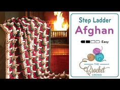 Learn how to make this amazing Step Ladder Afghan. It uses the Step Ladder Stitch for raised textures. To get the free pattern and diagram seen in the video,...