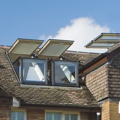 Attics and upper-floor spaces with angled roofs can feel stuffy and constricting, often cut off from both daylight and fresh air. Instead of renovating the roof to add attic windows or balconies, you could have both in one. European window manufacturer Velux offers dormer windows that transform ...