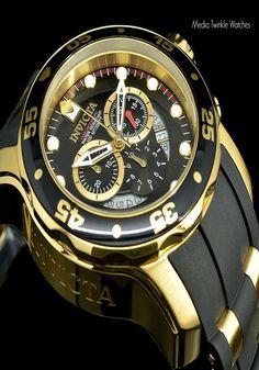 Invicta Men's 6981 Pro Diver Fashion Luxury Watch !  #Luxury #Diver #Sport #Fashion #Gold #Men #Watch