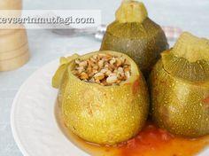 Bulgurlu Girit Kabağı Dolması Tarifi | Kevser'in Mutfağı - Yemek Tarifleri