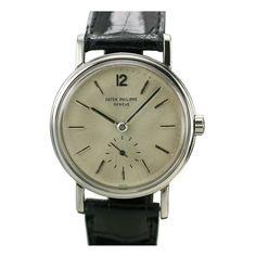 1960s Rare Platinum Automatic Wristwatch Ref 3435 by PATEK PHILIPPE