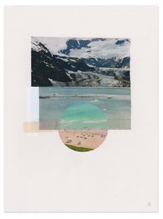 ////Strohl  Arctic Trip  Mixed Media  ©2015   antarctica, ocean, glacier, iceberg, global warming, beach, california, summer vacation,