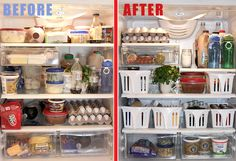 How to clean and organize your refrigerator, by Jillee. | I read this entire post and not only is it simple and possible, I'm actually EXCITED about tackling this project. That's how easy it is! Yay pinterest!