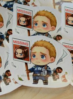 Have you seen Bucky?