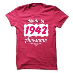 awesome  Made in 1942 legend year  Order Now!!! ==> http://pintshirts.net/birth-years-t-shirts/get-cheap-made-in-1942-legend-year-order-now.html