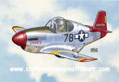 P-51C Mustang 'Janice' Paul L. Green, 302 FS, 332 FG (Tuskegee Airmen), Italy, 1944
