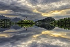 Mirror, Bled Slovenia | by Rilind H on 500px
