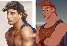So sähen Disney-Prinzen im echten Leben aus