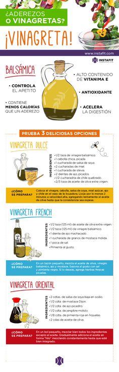 vinagretas receta