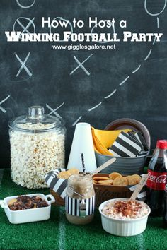 How to Host a Winning Football Party_Giggles Galore
